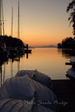 #106 Tugboat Sunset
