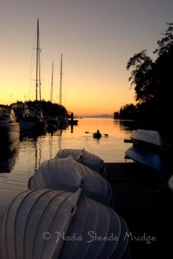 #107 Kayak at Sunset