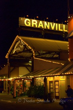 #236 Granville Island at night DSC_0152
